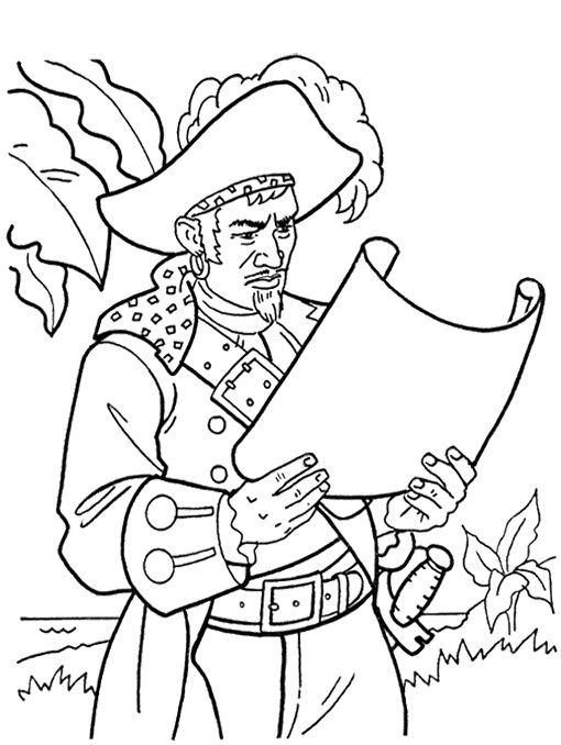 James Norrington Pirates Of The Caribbean Coloring Page Pirate Coloring Pages Coloring Pages Disney Coloring Pages
