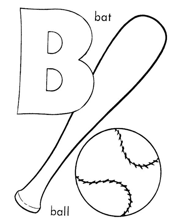 b for baseball coloring pages baseball coloring getgrizzlie