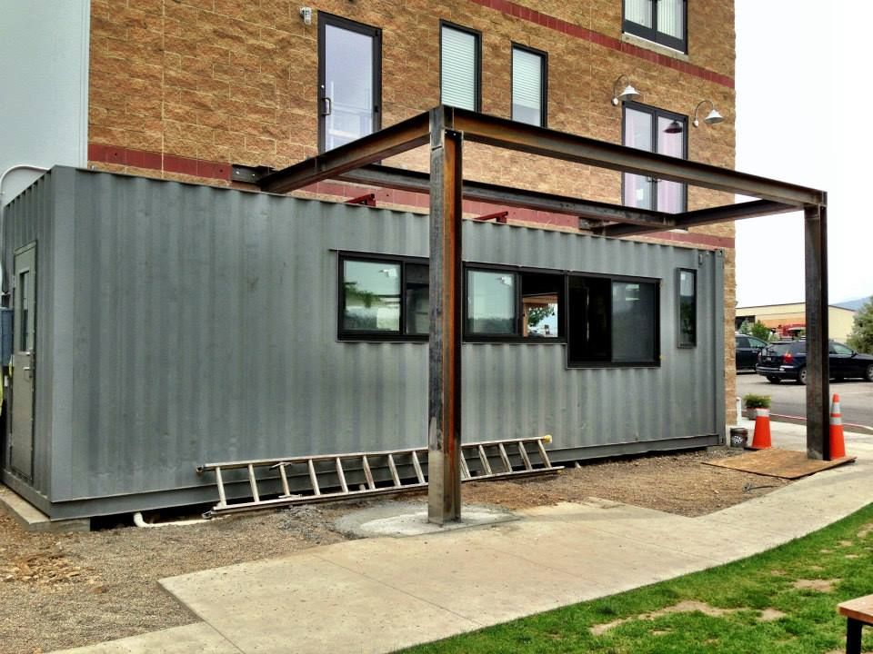 shipping container home office. Shipping Container Homes: 2 X Containers, - The Restaurant, Durango Home Office