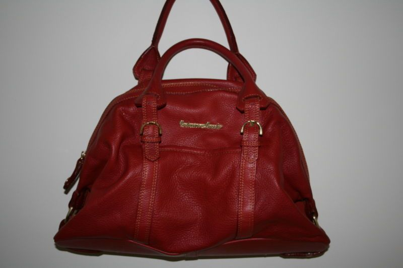 Caterina Lucci Red Leather bag