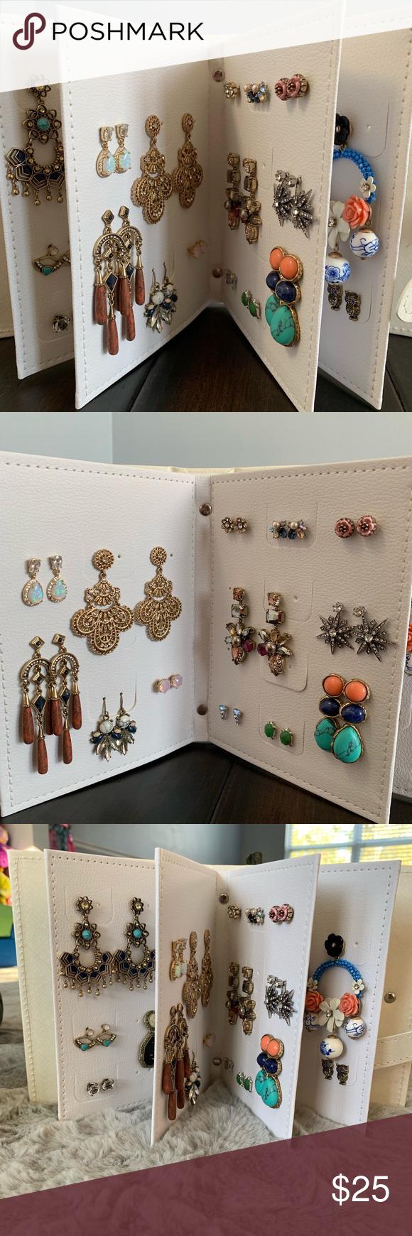 Photo of Earring Storage Binder – Jewelry Organizer Adorable Jewelry Organizer Fav …