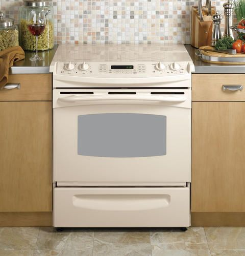 I M Liking The Looks Of The Almond Bisque Colored Appliances They