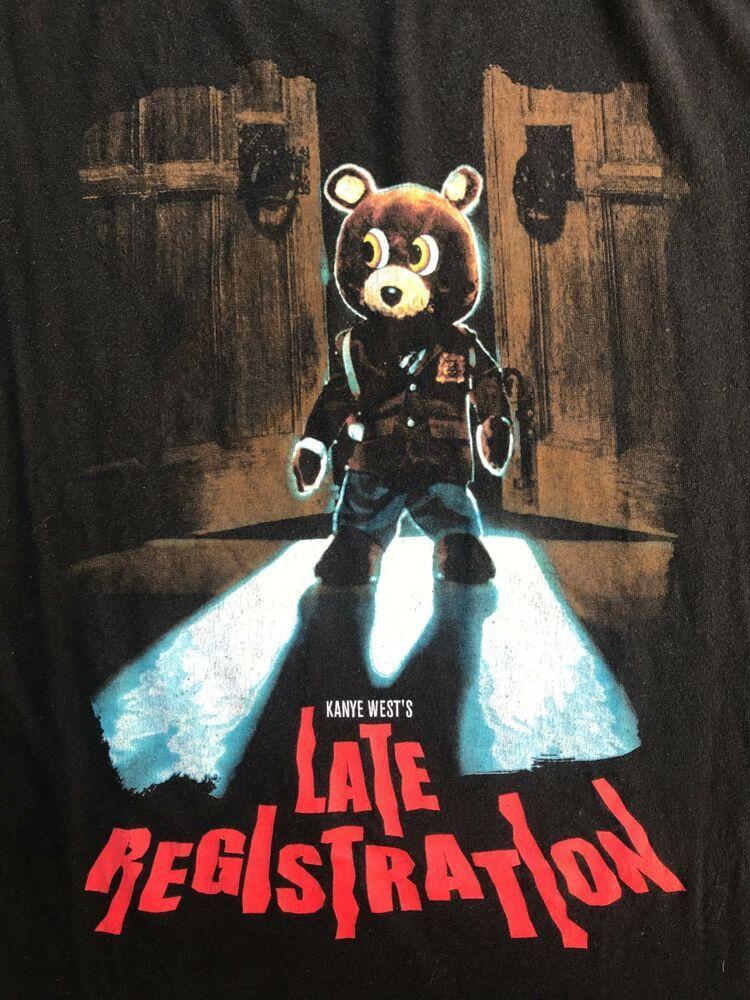 Kanye West Late Registration Shirt Size S Rap Tee Tour Merch