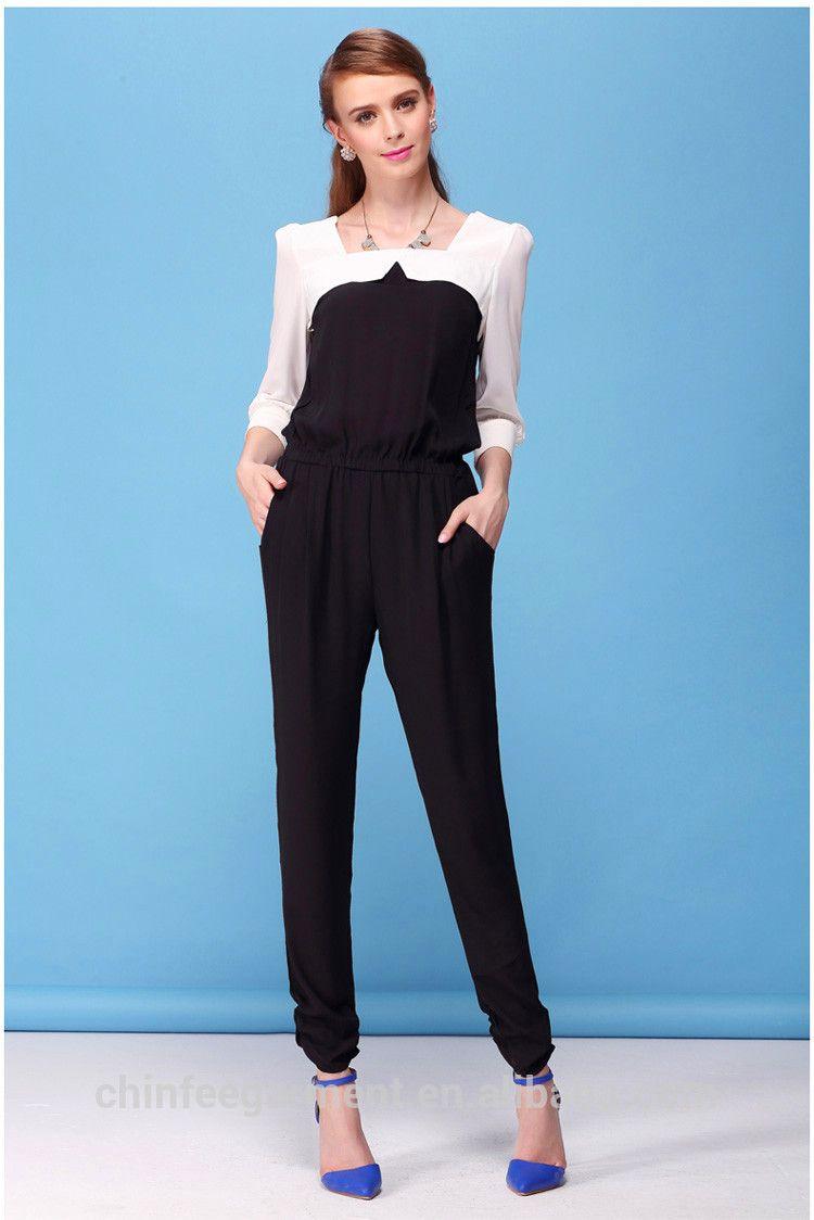 a7743cc6b39 Designer fashion women jumpsuit lady formal jumpsuits