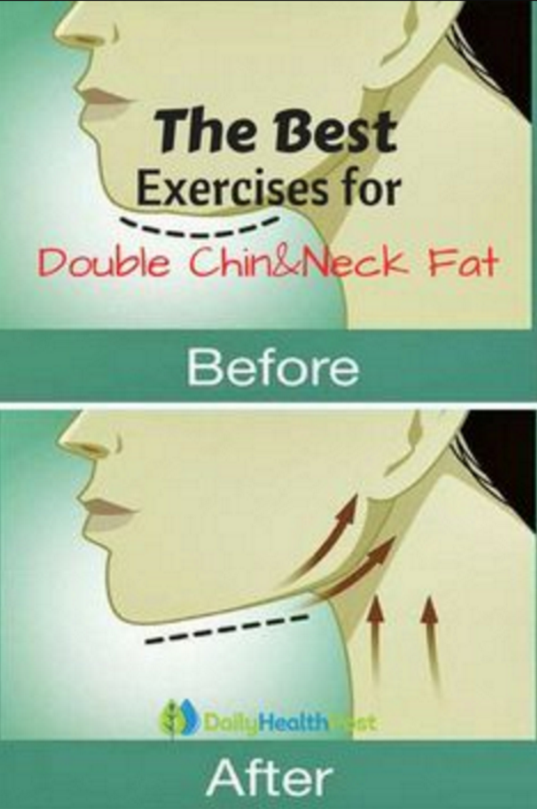 Video Tutorial: Get rid of double chin and neck fat fast and easily – FIT/NSTANTLY