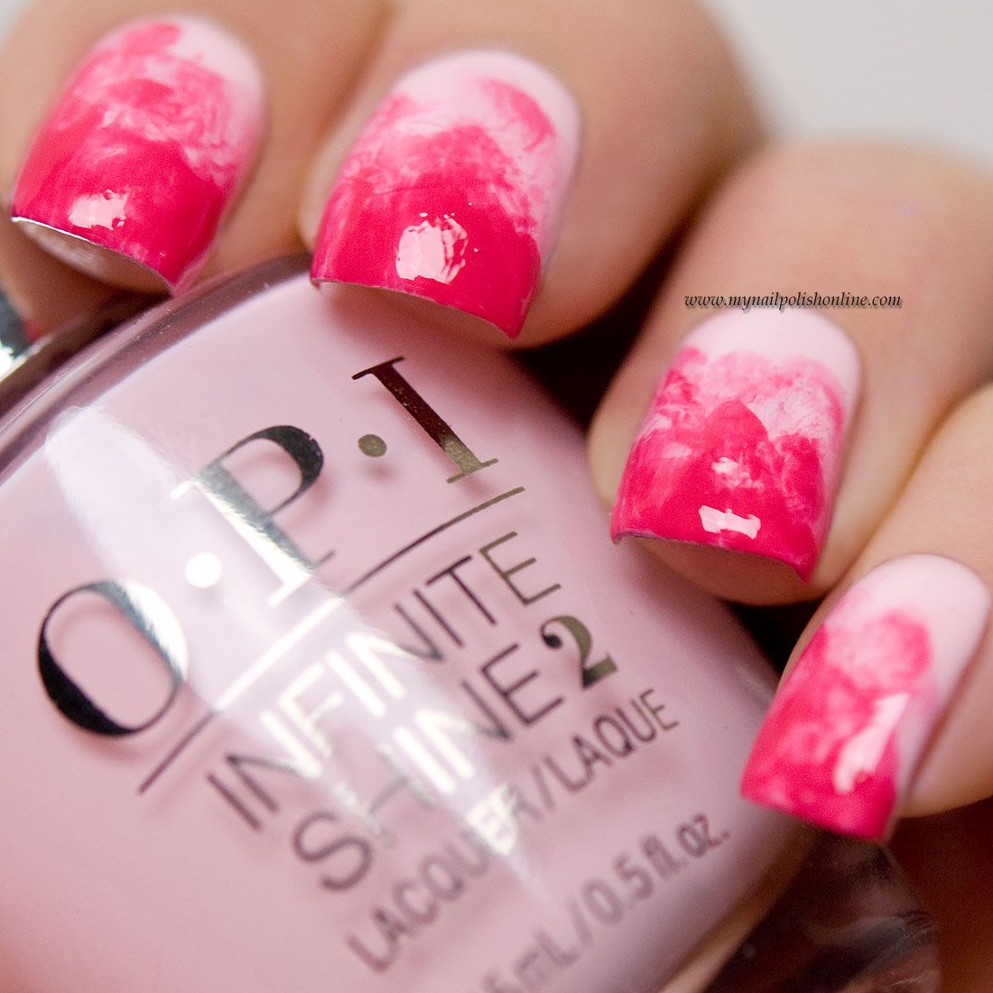 Nail Art Sunday - Experimenting with pink | Nail polish online, Tie ...