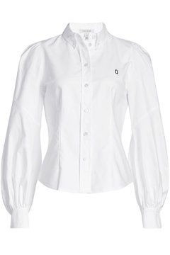 Cotton Shirt with Bishop Sleeves   Marc Jacobs