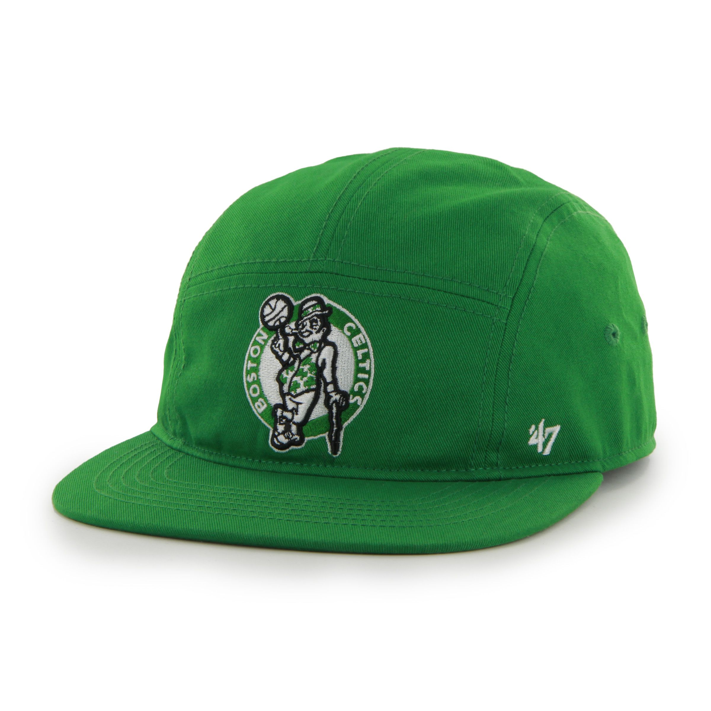30659b1e030ea Boston Celtics Bergen 5 Panel Kelly 47 Brand Adjustable Hat ...