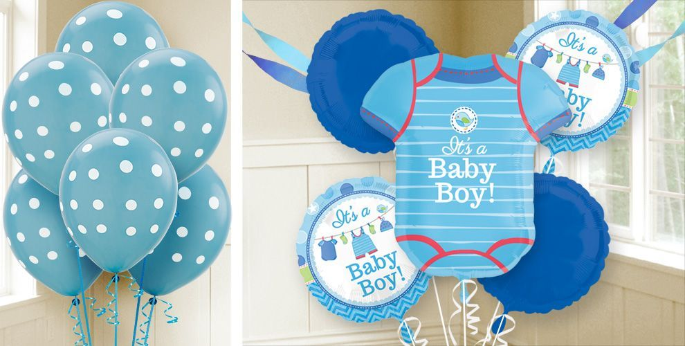 Boy Baby Shower Balloons Shower With Love Party City Baby Shower Invitations For Boys Boy Baby Shower Themes City Baby Shower