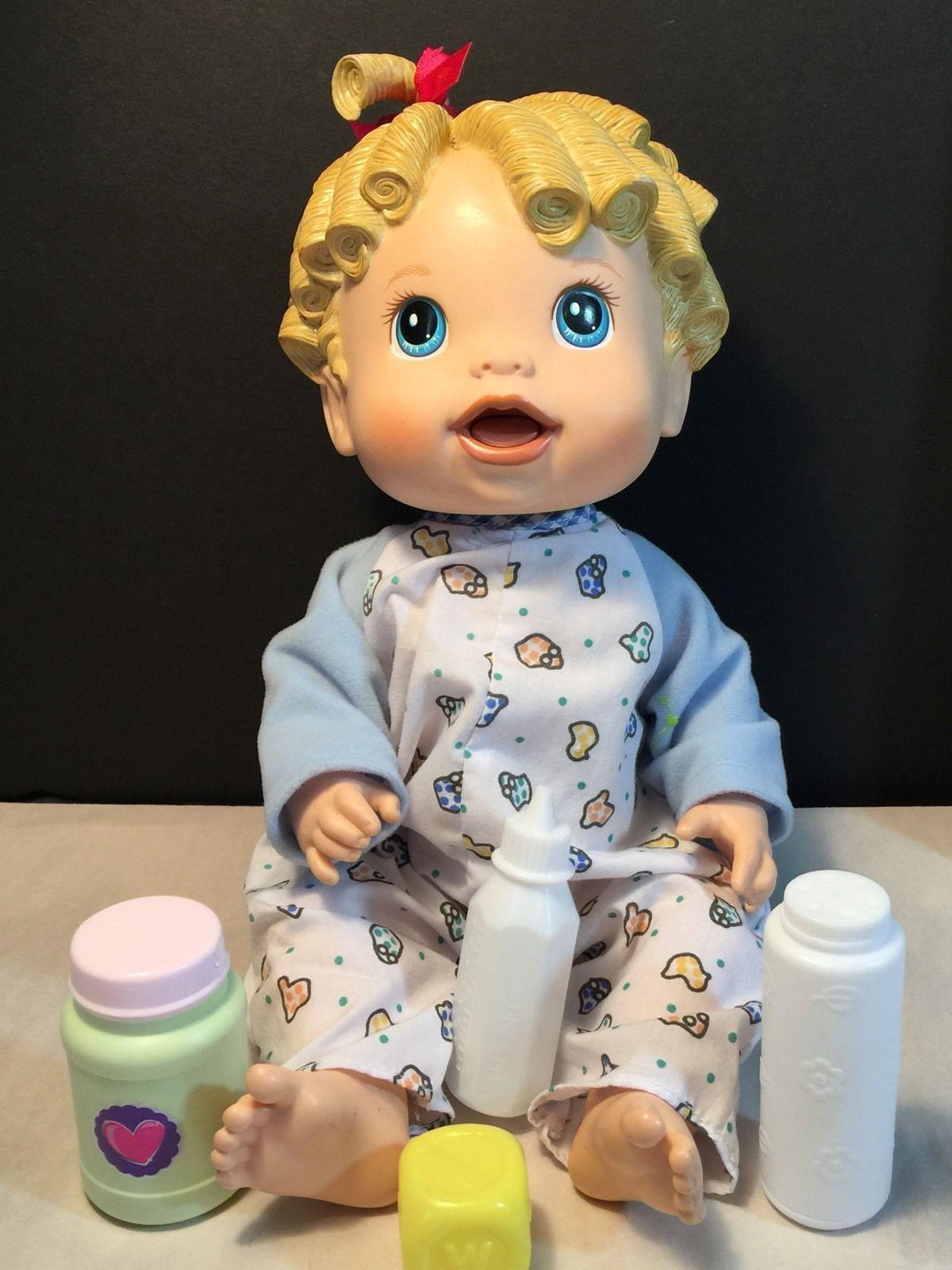 Hasbro 2009 Baby Alive Baby All Gone Doll   eBay