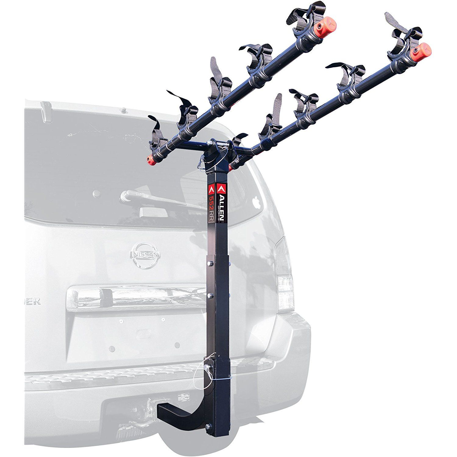 Allen Sports Deluxe 5Bike Hitch Mount Rack with 2Inch