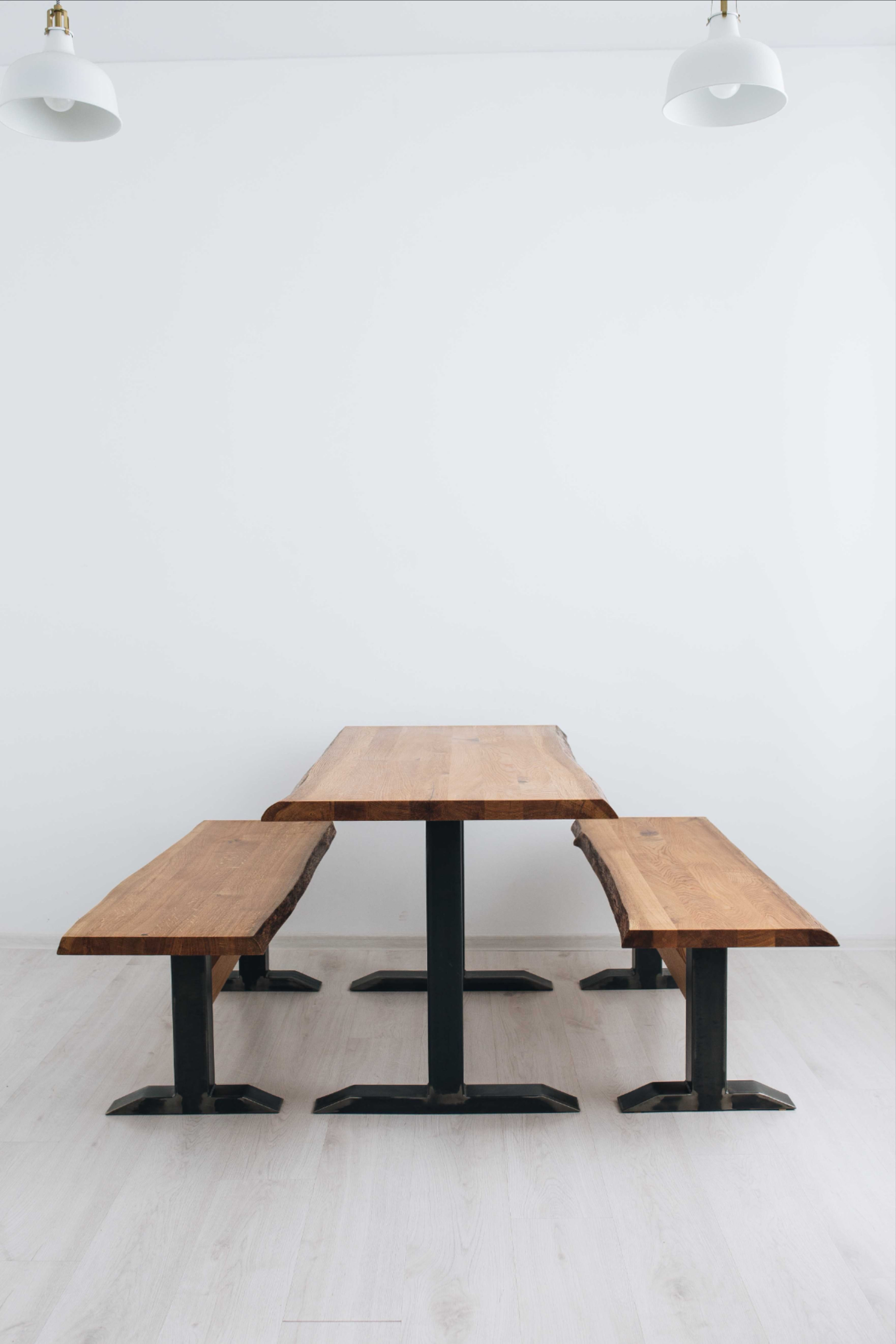 Tisch Banke In 2021 Eiche Mobel Dekor Tischplatten
