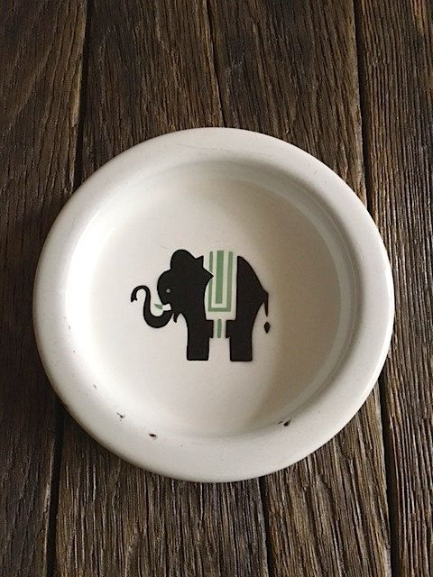 Your Place To Buy And Sell All Things Handmade Childrens Dishes Antique Elephant Porcelain Painting