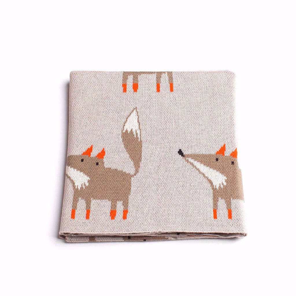 Fox Baby Blanket - Pre-Order Now – Harrison & Co - Lifestyle & Design