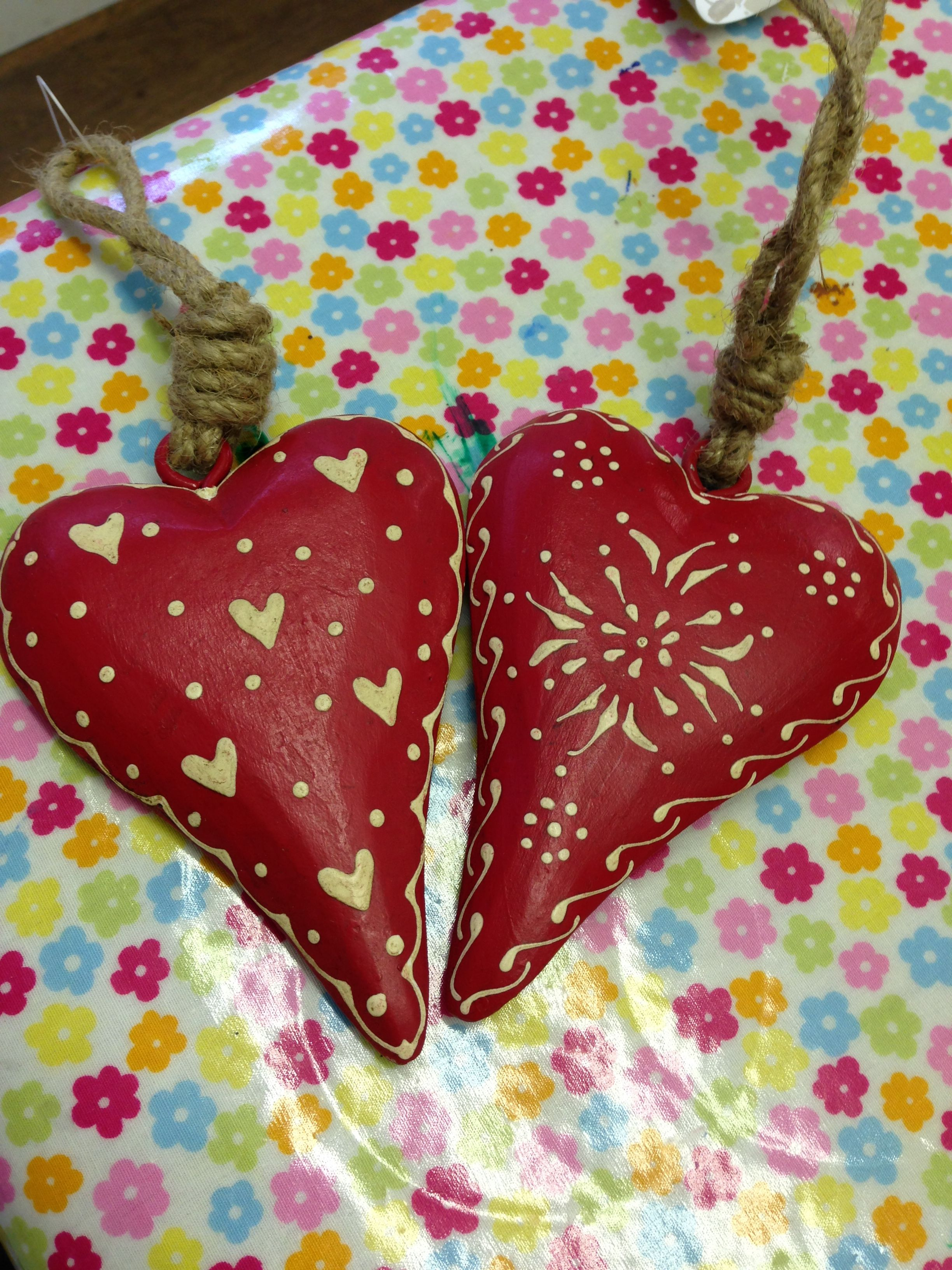 Wooden Fair-trade heart's | Christmas ornaments, Gifts ...
