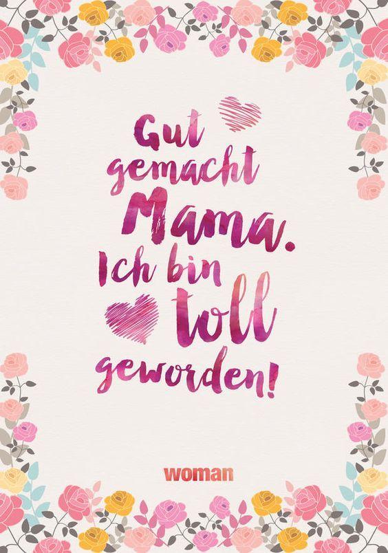 Muttertagskarten zum Ausdrucken! #lustigegeschenke
