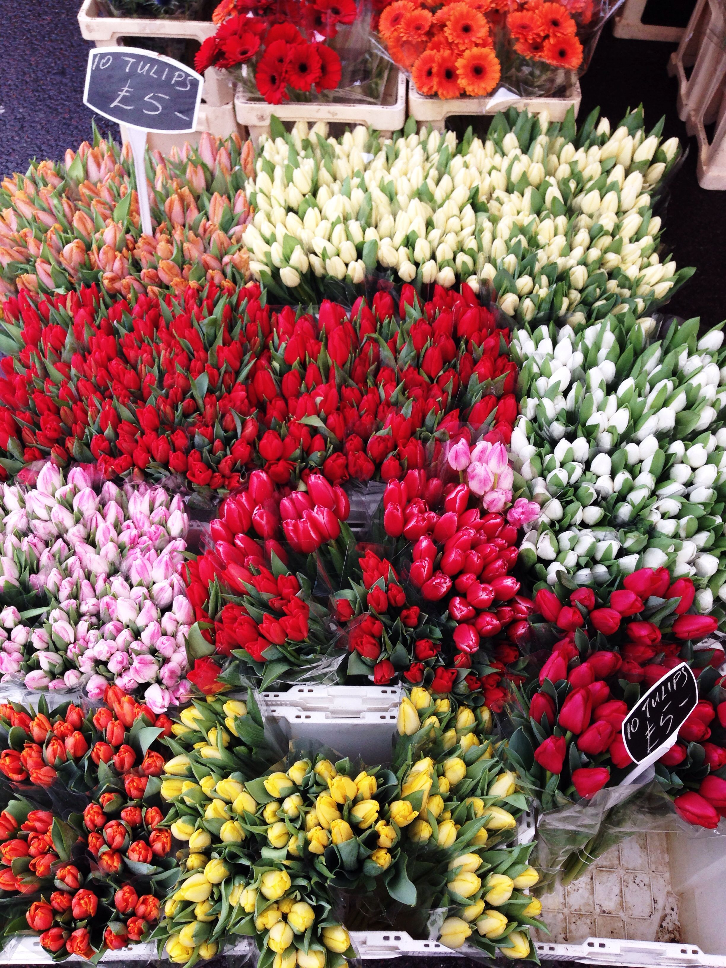 Shoreditch Market: Broadway Market, Shoreditch/ London (2014