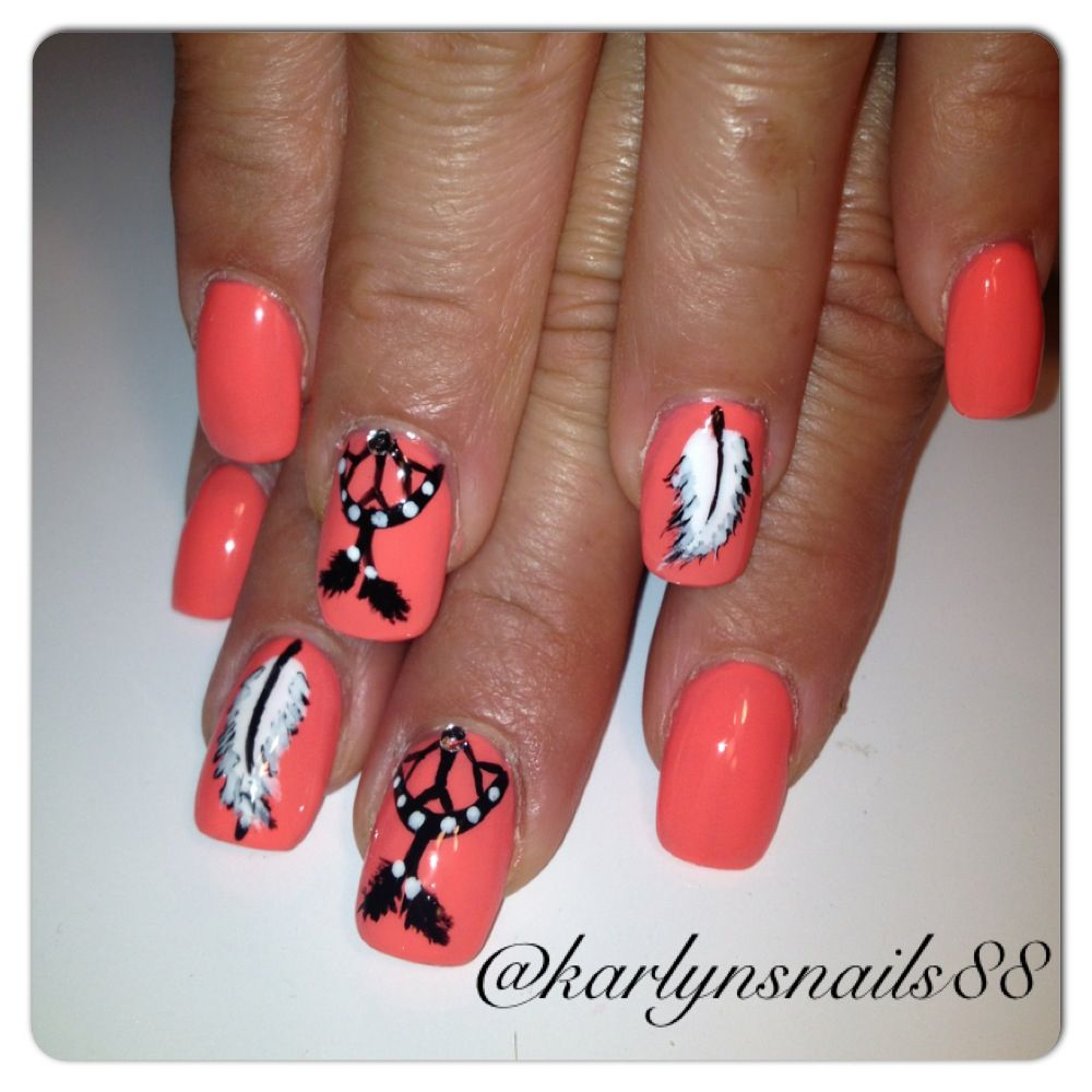 Watch - Haircolorful and Beauty polka dot nail art video