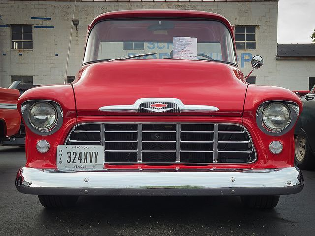 1956 Chevy Pickup Classic Pickup Trucks Chevy Pickups Pickup