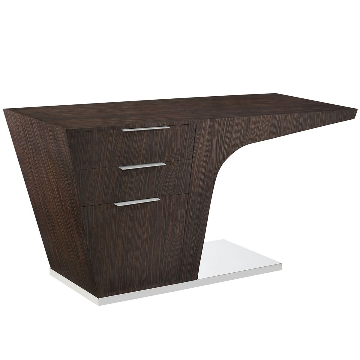 Warp Office Desk By Modway Luxemoderndesign Com