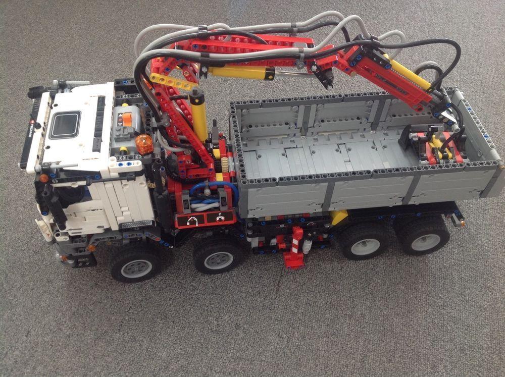 LEGO Technic 42043 Mercedes Benz Arocs 3245 100% complete