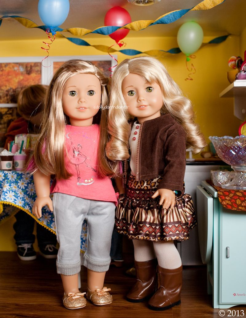 Dolly Dorm Diaries ~ Our American Girl Doll Blog Adventures : { GOTY 2014 Isabel... #americangirlhouse