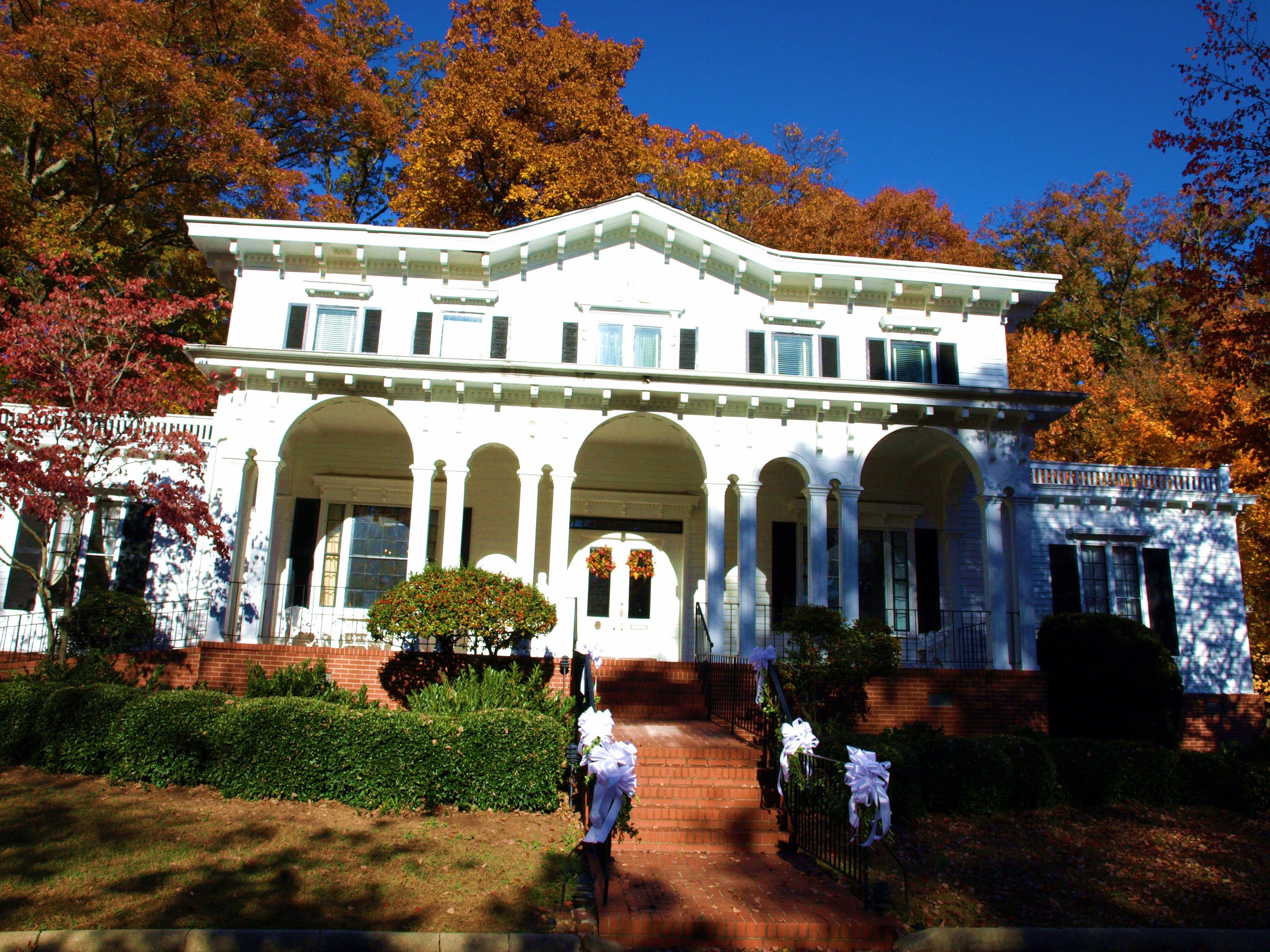 The Fountain Fox Beattie House Also Known As Greenville Womans Club SC Brenda M