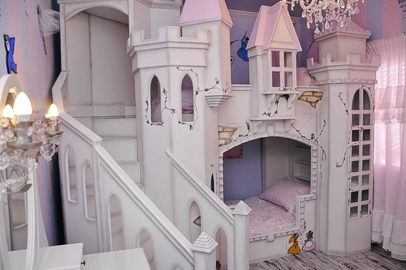 Cinderella Princess Castle Bunk Beds Princess Castle Bed Girls