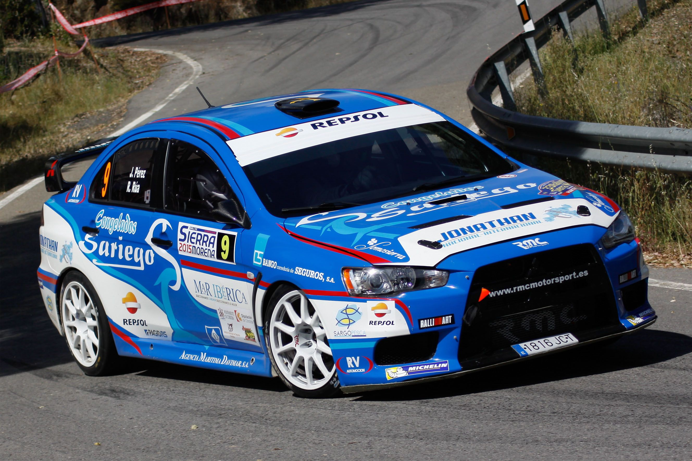 Mitsubishi Evo X R4 Jonathan Perez 2015 World Rally
