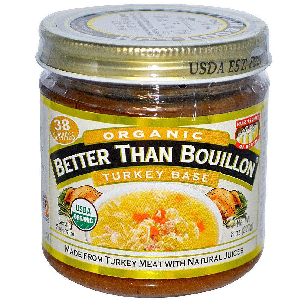 Better Than Bouillon Organic Turkey Base Chicken base