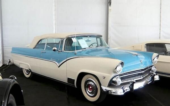 1950 S Ford Car Blue And White Two Tone Love This Car Ford Fairlane Classic Cars 1954 Chevy Bel Air