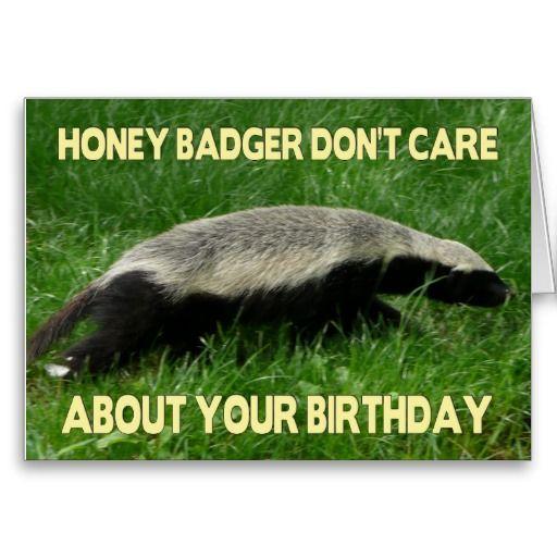 Honey Badger Birthday Honey Badger Badger Funny Wedding Signs