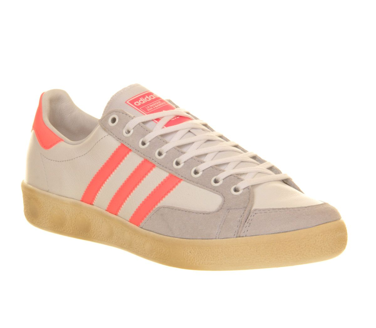 cheap for discount 2e387 00203 Adidas Nastase Master Vintage White Pink Zest - His trainers
