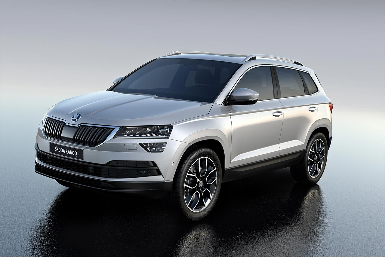 Skoda Karoq has made its world debut The Skoda Kodiaq s younger