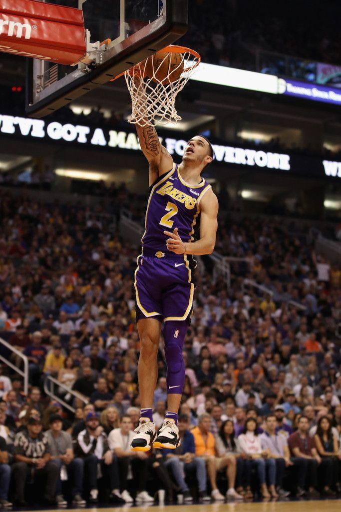 Lonzo Ball Photos Photos Los Angeles Lakers vs. Phoenix