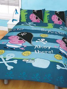Brand New Peppa Pig George Pirate Double Duvet Cover Co Uk