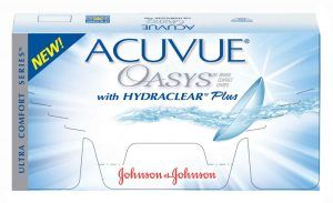acuvue oasys fortnightly contact lenses provide everything wearers
