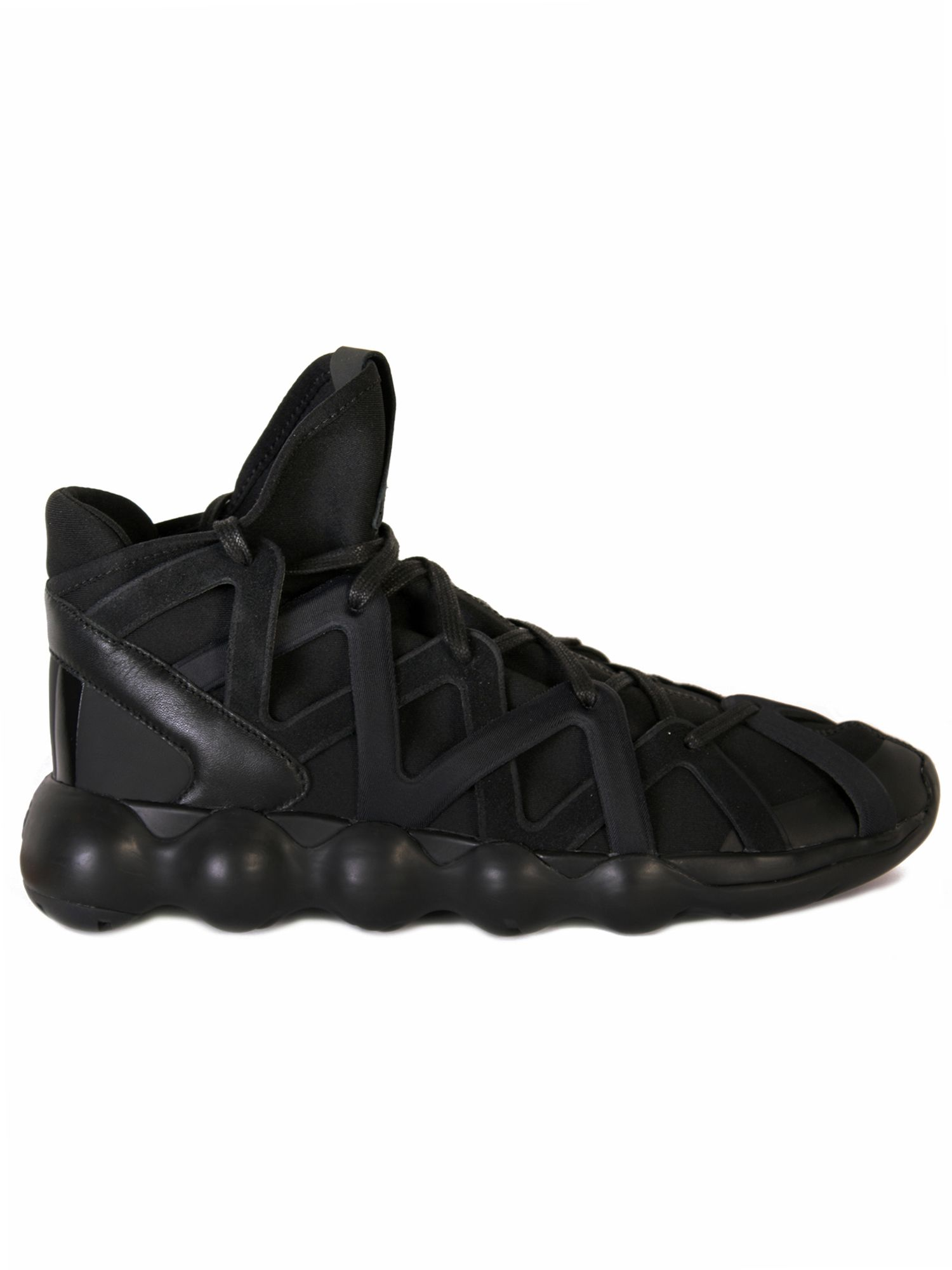 lace-up mesh sneakers - Black Yohji Yamamoto 1d1y0Lre