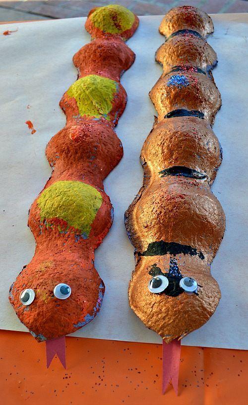 Preschool snake craft desert crafts for kids pinterest for Reptile crafts for kids