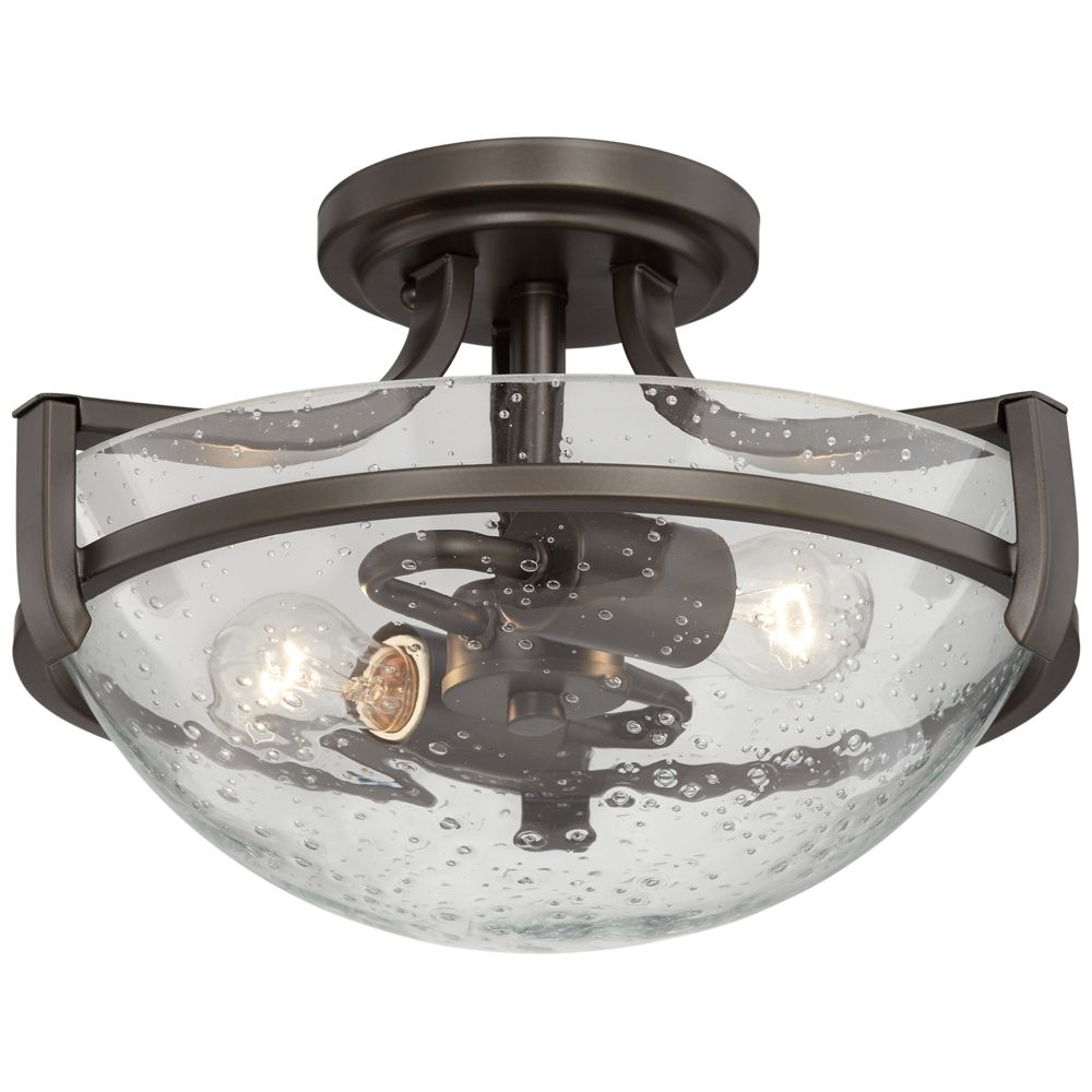 8227a008927 Contemporary Semi-Flushmount Ceiling Lights - Page 2. Lilah 12 1 2