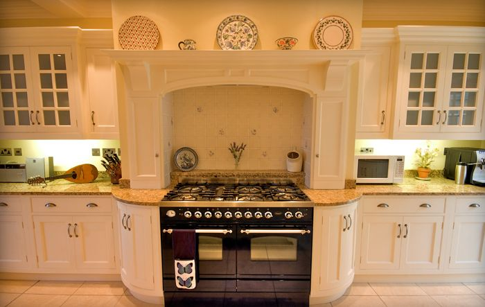 Range With Curved Cabinetry, Faux Chimney And Over Mantle · Backsplash  IdeasKitchen ... Part 98