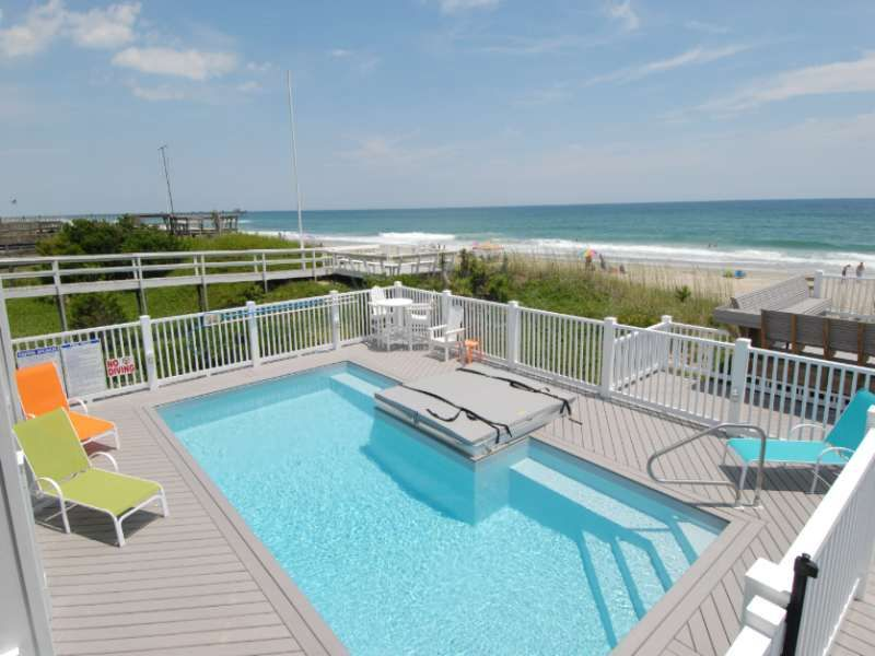 Pirates Perch A 6 Bedroom Oceanfront Rental House In Emerald Isle Part Of The Crystal Coast Of