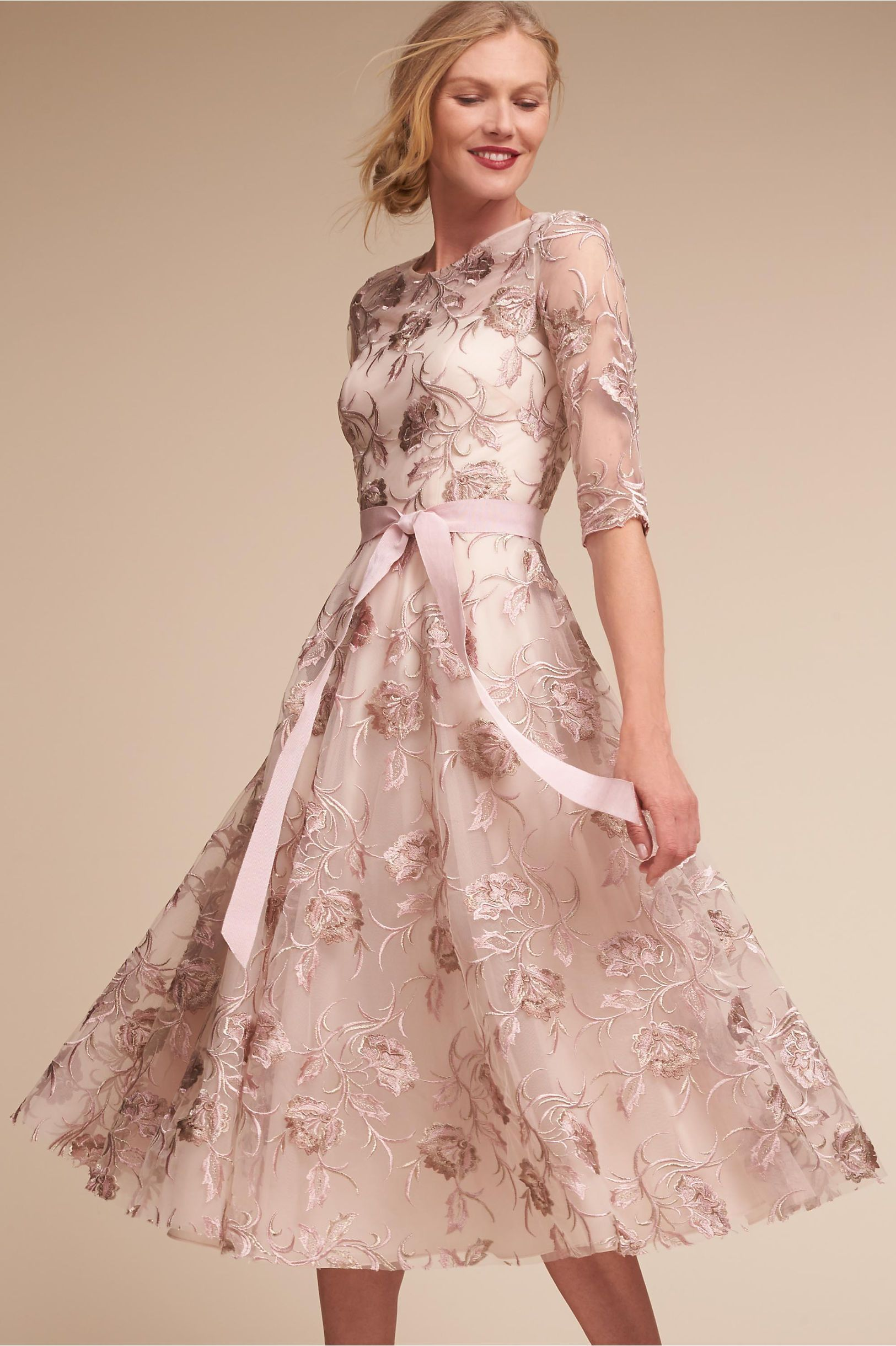$280 | BHLDN Blush Multi Linden Dress in Occasion Dresses | BHLDN ...