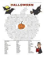 halloween word searches httpseasonaltheteacherscornernethalloween - Halloween Word Searches For Kids