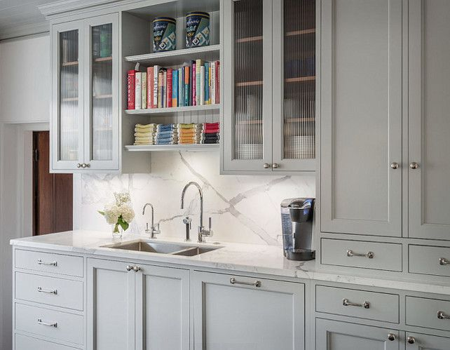 Gray Cabinet Benjamin Moore Metropolitan Gray Kitchen
