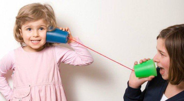 картинка учитесь говорить детьми со своими