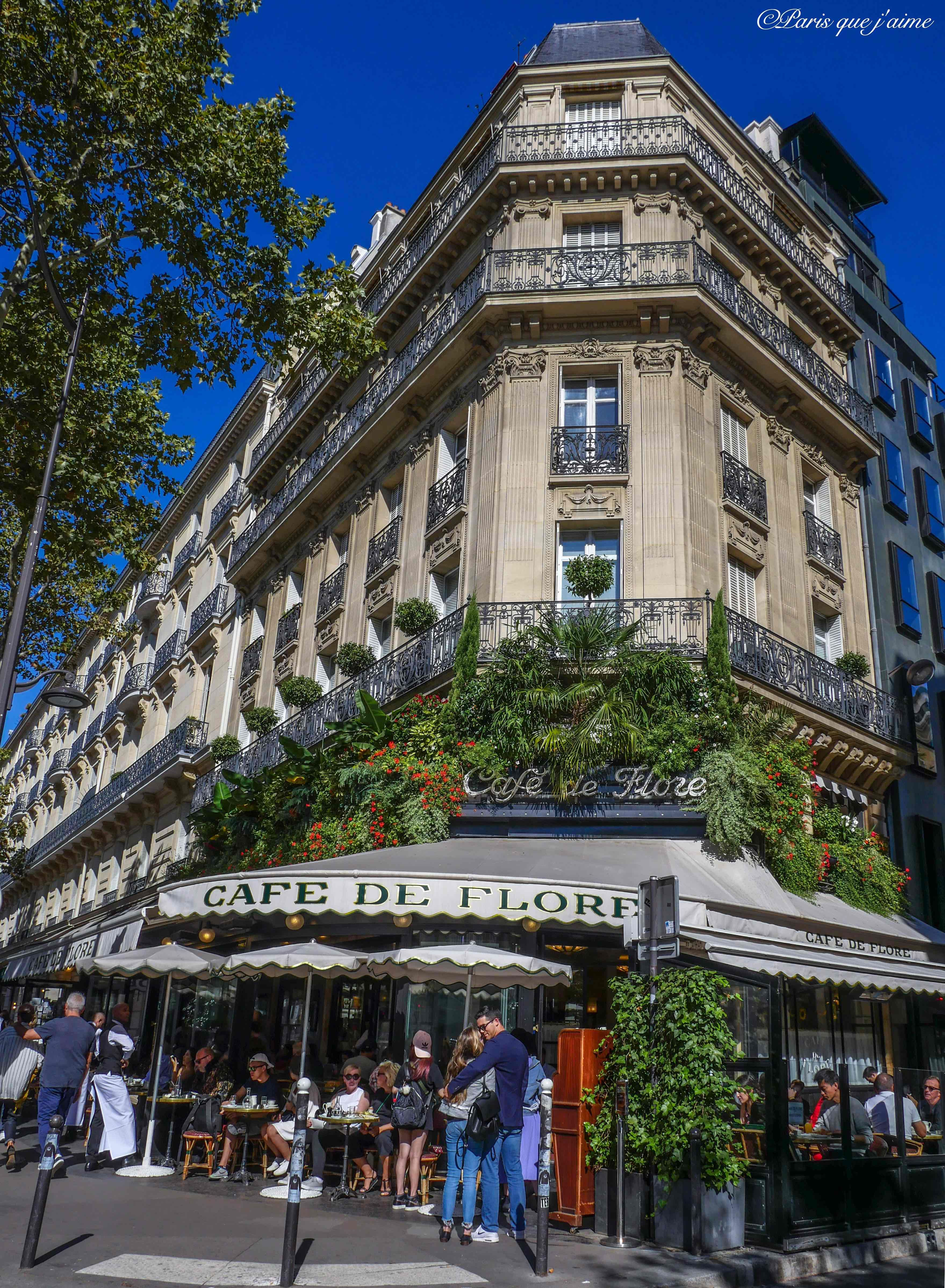 Cafe De Flore 172 Boulevard Saint Germain 75006 Paris Paris Visite Paris Paris Insolites