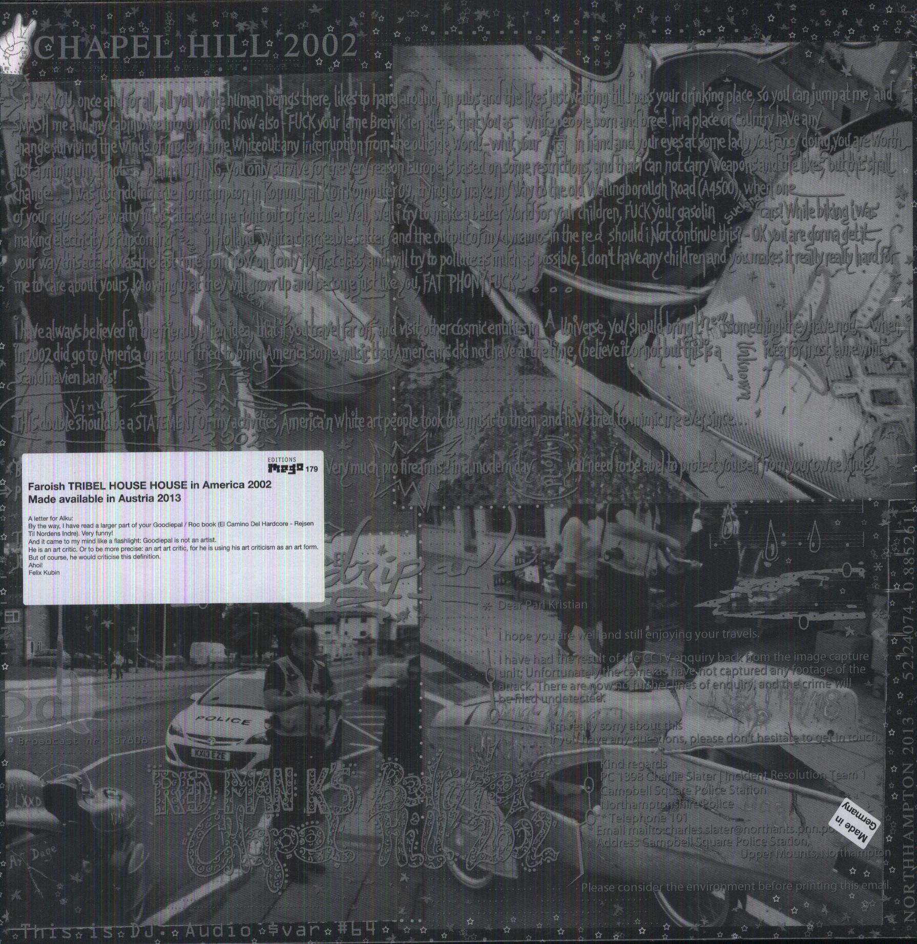 Goodiepal - Man K's Bedrifter - Goodiepal Live, Chapel Hill 2002