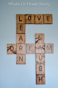 Diy scrabble tiles diy pinterest decoraci n hogar - Scrabble decoracion ...