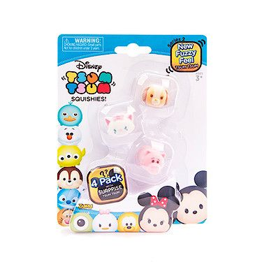 Squishy Disney Toys : Are you ready for Series 2 of our Squishy #TsumTsums?! With an all new fuzzy feel, these are an ...